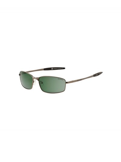 Dirty Dog Sunglasses Goose Gunmetal Frame Green Polarised Lens