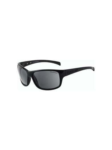 Dirty Dog Sunglasses Phin Shiny Black Grey Polarised Lens