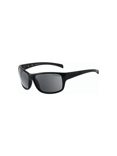 Dirty Dog Sunglasses Phin Shiny Black Grey Polarised Lens