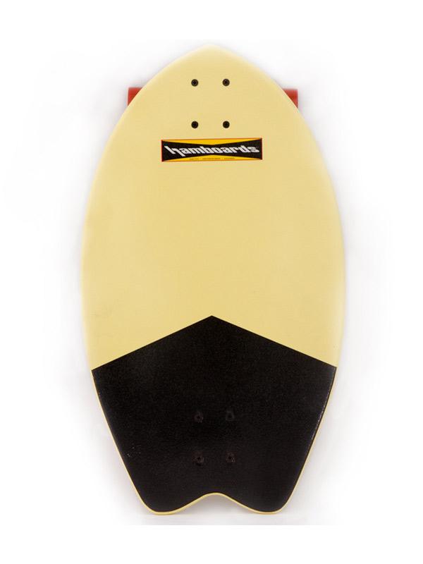 Hamboard Biscuit Black Tail Longboard Street Surfer
