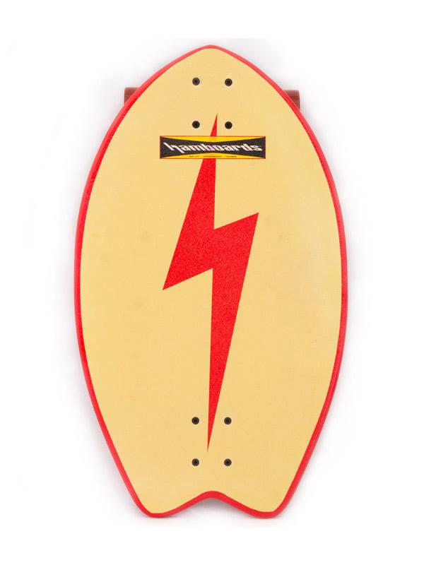 Hamboard Biscuit Lightning Tail Longboard Street Surfer