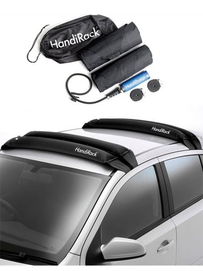 Handirack Inflatable Roof Rack (Transport SUP + Windsurfing Boards + Kayaks).