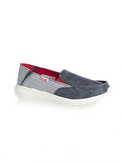 Hey Dude Shoes Ava Slip On Marine Stripe