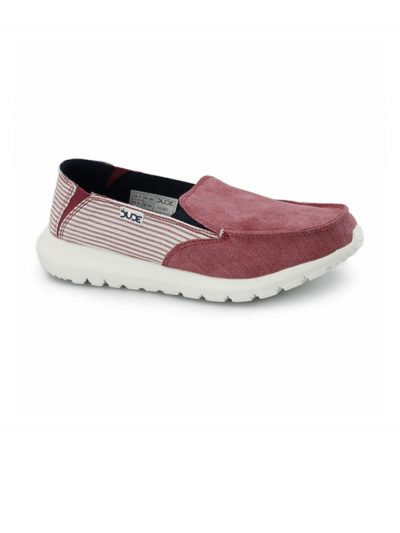 Hey Dude Shoes Ava Slip On Tangerine Stripe
