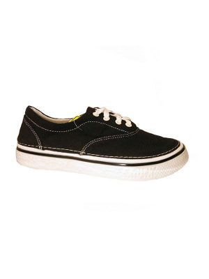 Hey Dude Shoes Sienna Lace Up Shoes Black