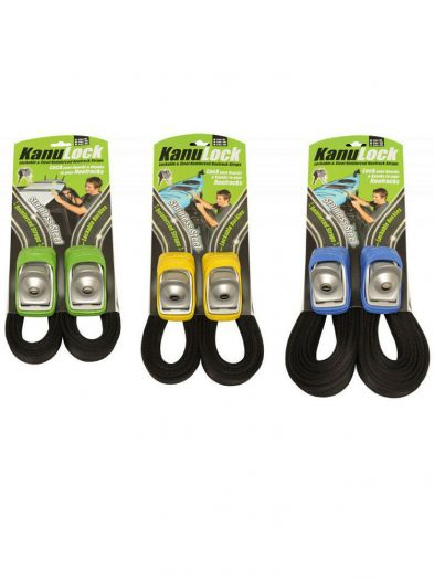 Kanu Lock Lockable Wire Reinforced Roof Rack Straps (2.5m,, 4.0m, 5.4m)