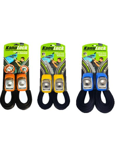 Kanu Lock Lockable Wire Reinforced Roof Rack Straps (3.3m, 4.0m, 5.4m)