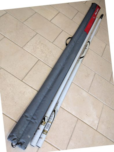 Second Hand 96% Carbon RD White 400cmTushingham Mast with bag