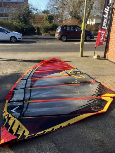 Second Hand severne Overdrive 8.6m Windsurfing Sail