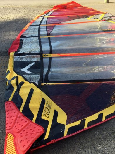 Second Hand severne Overdrive 8.6m Windsurfing Sail.