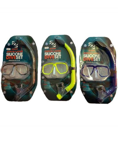 Typhoon Snorkel and mask set Junior,Ladies