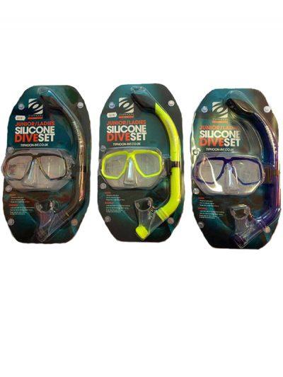 Typhoon Snorkel and mask set Junior,Ladies