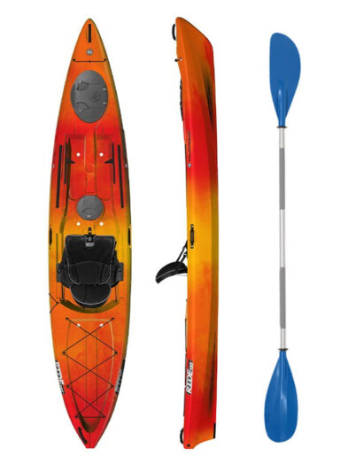 Wilderness Systems Ride 135 Mango with Drift Paddle Package