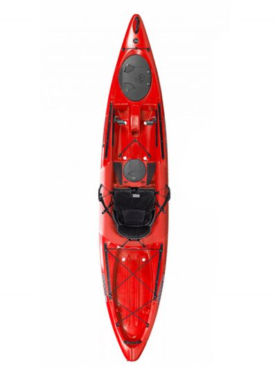 Wilderness Systems Tarpon 120 Sit On Top Kayak Red Boat Only