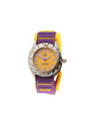Animal Watches Ladies Zepheresse Watch Yellow/Purple