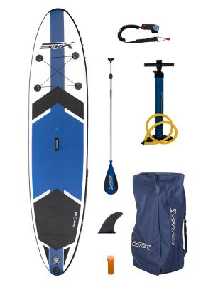 11'6''x 32'' STX Inflatable Windsurfable Paddleboard SUP Package
