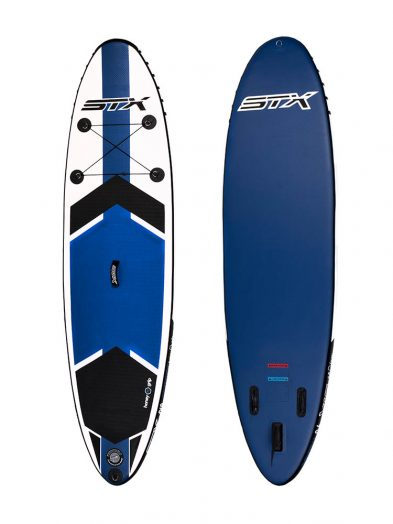 9'8''X 30'' STX Inflatable Paddleboard SUP Side