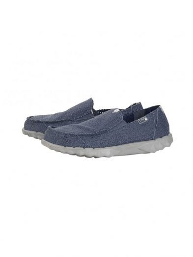 Hey Dude Farty Post Sport Perforated Navy Slip On Mule