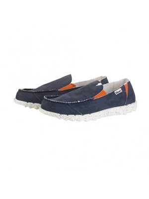 Hey Dude Shoes Farty Funk Navy/Orange Slip On Mule