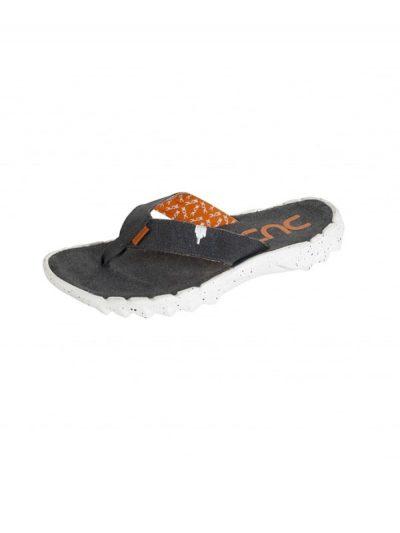 Hey Dude Shoes Sava Canvas Funk Ossidiana Flip Flops