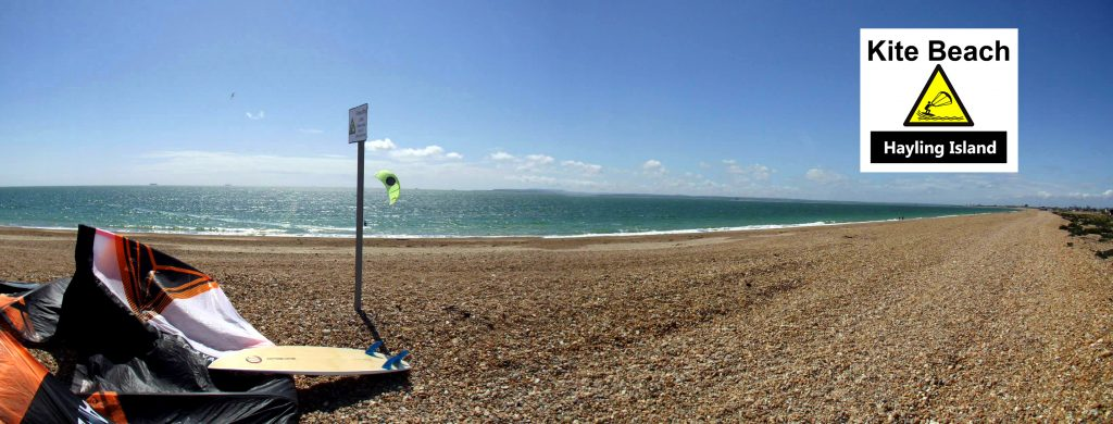 Kite Beach Hayling Island FREE Kitesurfing Land Launch Zone