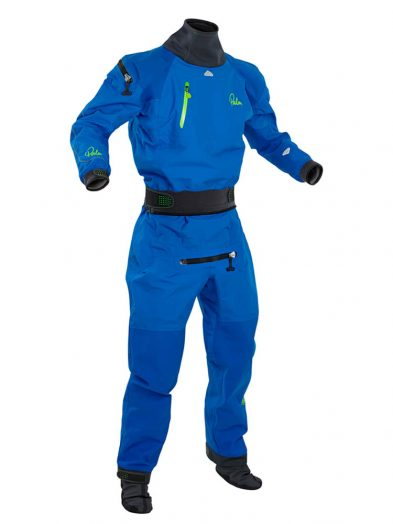 Palm Atom Immersion suit Mens Dry suit Blue