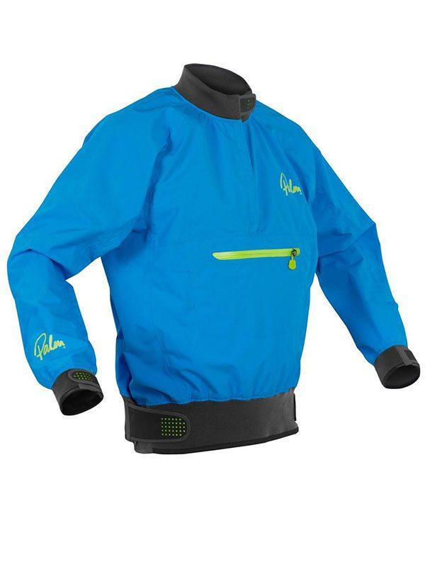 Palm Vector Waterproof +Breathable Spray Top Jacket Mens Blue