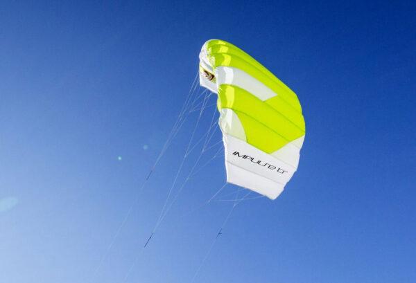 Peter Lynn Impulse TR Land Kite Kitesurfing Trainer 3m green
