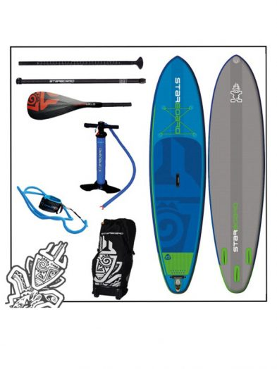 11'2'' x 32'' Starboard Widepoint Inflatable Zen SUP Board 2017 Tiki Tech Package