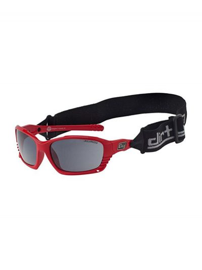 Dirty Dog Sunglasses Furious Red Frame Grey LensDirty Dog Sunglasses Furious Red Frame Grey Lens
