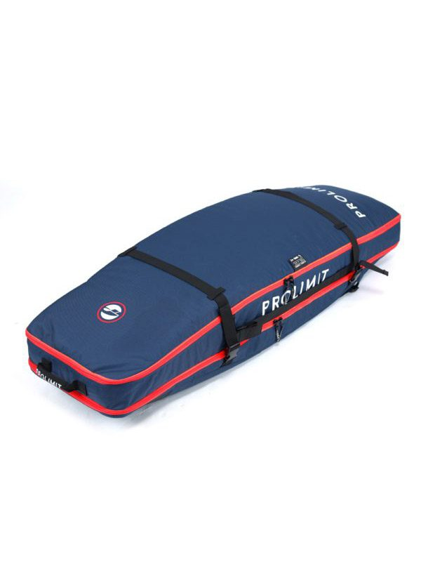 Pro Limit Kitesurf Board Bag Global Combo Twin Tip With Backpack Straps Blue Red