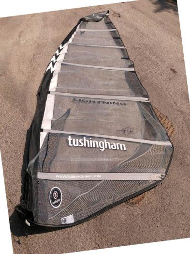 Second Hand 7.8m Tushingham Lightning Windsurfing Sail VGC