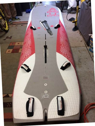 Second Hand Starboard Gemini Mk1 Tandem Windsurfing Board With Boardbag