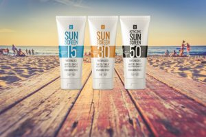 SolRX Waterproof Sun Screen
