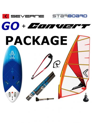 141 Starboard Go and Severne Convert Package