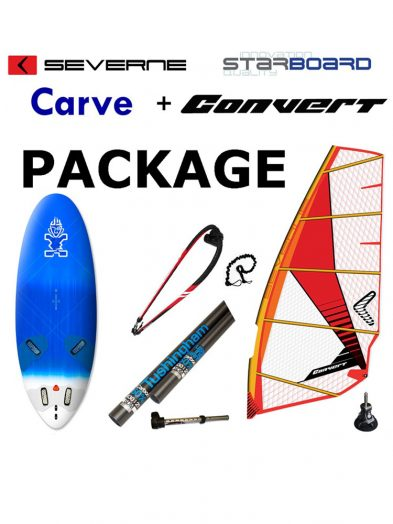 Starboard Carve 141 or 151 2017 With Severne Convert Package