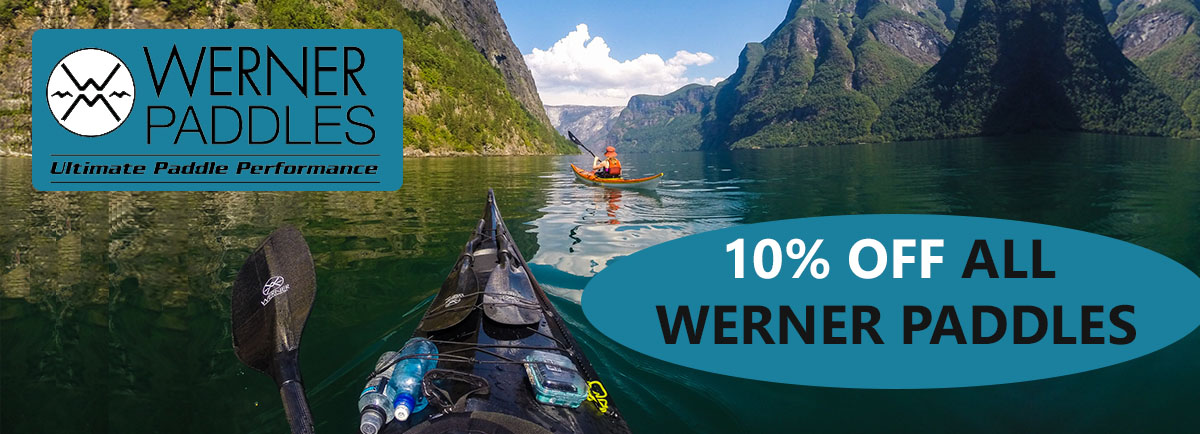Werner Paddle Graphic 10% off