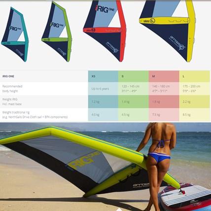 Fanatic Arrows Inflatable Windsup I Rig