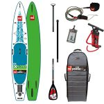 13'2 Red Paddle Co 2017 Explorer Inflatable ISUP Paddleboard alloy package