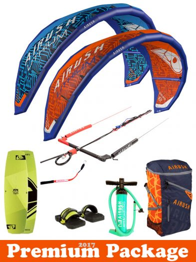 Airush Lithium 2017 Freeride Kitesurfing package