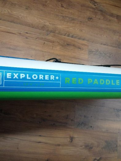 Second Hand 2017 Red Paddle Co 13'2 Explorer inflatable isup paddleboard