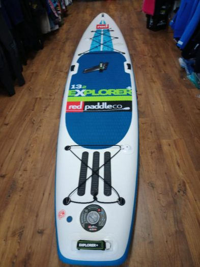 Second Hand 2017 Red Paddle Co 12'6 Explorer inflatable isup paddleboard