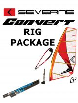 Severne Convert 2017 Windsurfing Rig Package RDM