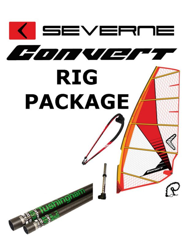 Severne Convert 2017 Windsurfing Rig Package SDM