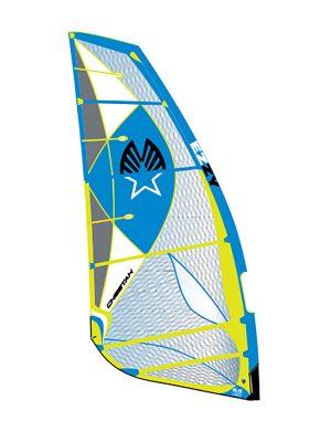 Ezzy cheetah 2018 Windsurfing sails Blue yellow