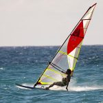 Ezzy cheetah 2018 Windsurfing sails action
