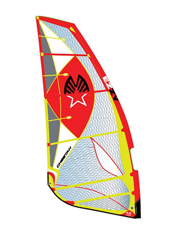 Ezzy cheetah 2018 Windsurfing sails red yellow