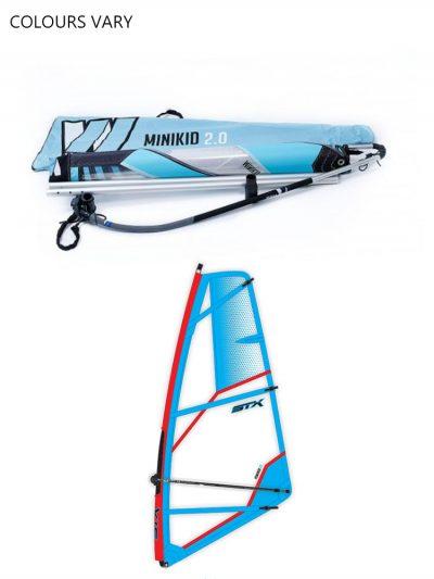 STX Pro Limit Minikid Kids Windsurfing Rig Package