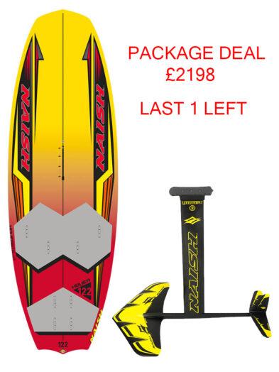 Naish Hover Foil Board 122 Windsurfing Hydrofoil Board LAST BOARD LEFT!!