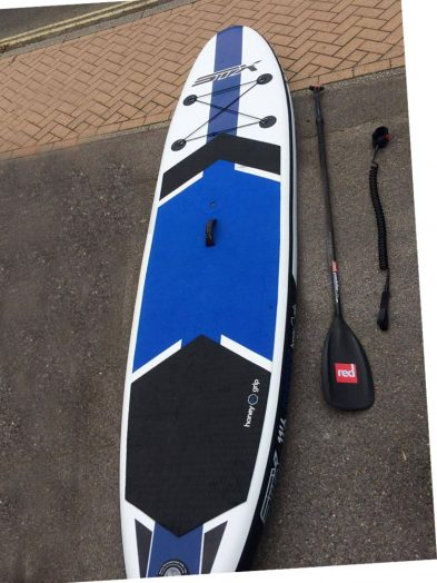 "STX 11'6 x 32"" INFLATABLE (Package including board, bag, leash, adjustable paddle + pump)"